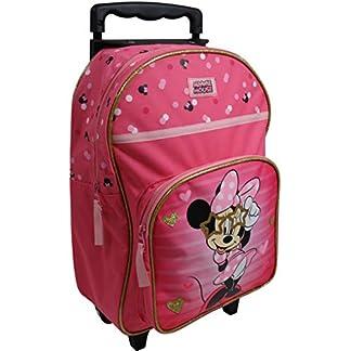 Spielwaren-Klee-Disney-Minnie-Mouse-Trolley-Koffer-Kinderkoffer-Rucksack-Reisekoffer-Pink-8571