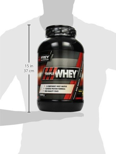 Frey Nutrition Whey Protein Vanille Dose, 1er Pack (1 x 2.3 kg)