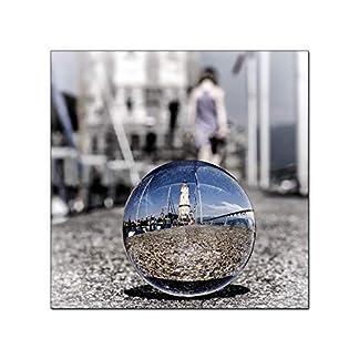 Yeti-Gold-Glaskugel-Fotografenqualitt-10cm-allein-oder-mit-Glassockel