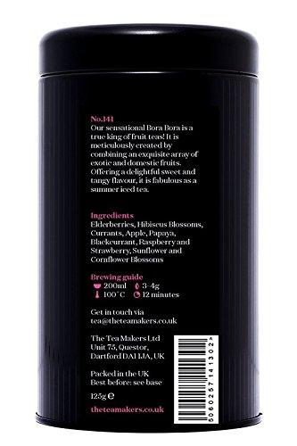 The-Tea-Makers-of-London-sagenhafter-Bora-Bora-Frchtetee-Erdbeer-Mango-Tee-von-prmiertem-Teekontor-Geschenkidee-1er-Pack-1-x-125-g