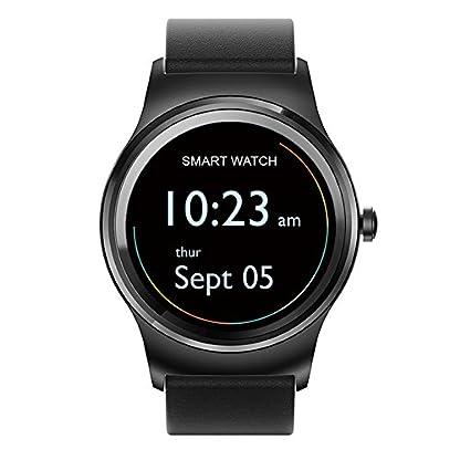 Smartwatch-Armbanduhr-Herrenuhr-SMAWATCH-13-IPS-Runde-Touchscreen-Wasserdicht-Bluetooth-40-Herzfrequenz-Schlaf-Monitor-Aktivitt-Fitness-Tracker-Pedometer-Smart-Armband-fr-Android-IOS-Smartphones
