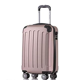 BEIBYE-Zwillingsrollen-Hardcase-Reisekoffer-Koffer-Trolleys-Hartschale-in-XL-L-M-in-14-Farben