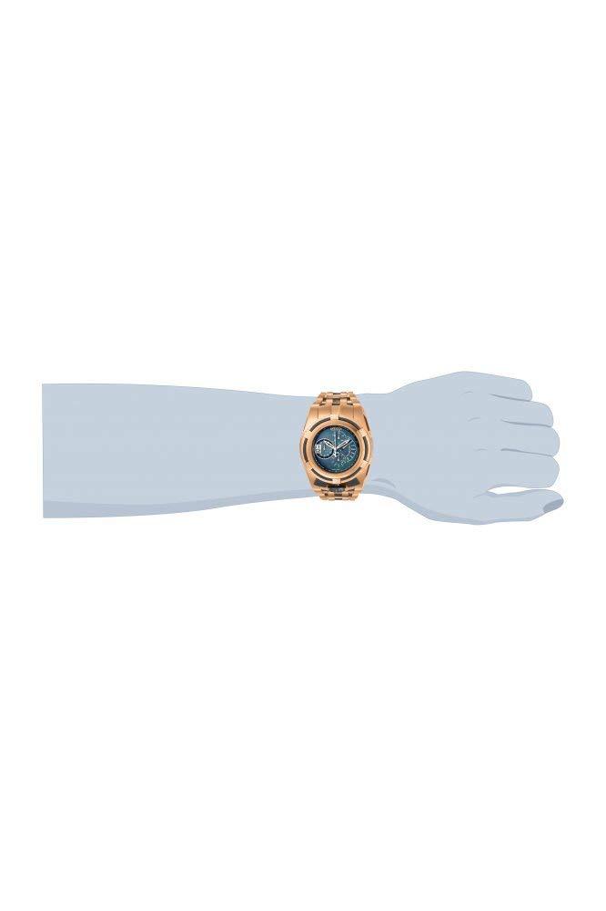 Invicta-Herren-Analog-Quarz-Uhr-mit-Edelstahl-Armband-19423