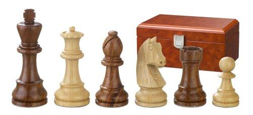 Philos-2184-Schachfiguren-Artus-Knigshhe-70-mm-doppelt-gewichtet-in-Figurenbox
