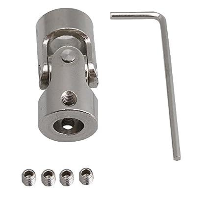 bqlzr-Silber-8-mm-bis-10-mm-ID-35-mm-Lnge-45-Stahl-drehbar-Motor-Schaft-Universal-gemeinsame-Anschluss-Kupplung-w-Inbusschlssel-Schrauben