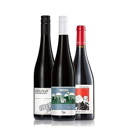 GEILE-WEINE-Weinpaket-Rotwein-trocken-klein-3-x-075l-Bester-Rotwein-aus-Deutschland-und-Portugal