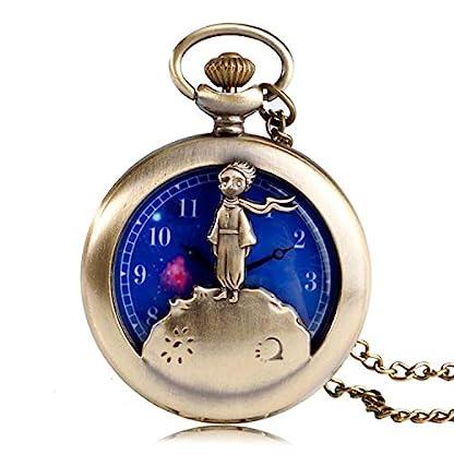 Taschenuhr-Little-Prince-Design-Quarz-Taschenuhr-fr-Herren-blau-Planet-Zifferblatt-Halskette-Taschenuhr-Geschenk