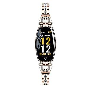 Watch-Smart-Sports-Weiblichen-Metall-Farbbildschirm-Wetter-Wasserdicht-Herzfrequenz-Bildschirmgre-096-Geeignet-Fr-Menschenmengen-Erwachsene-Angestellte-Frauen