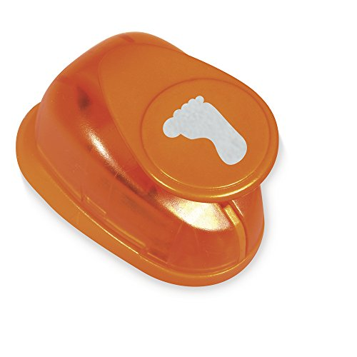Rayher Motivstanzer Fuß, ø 1,6 cm, 5/8 Zoll, geeignet für Papier/Karton bis zu 200 g/m²