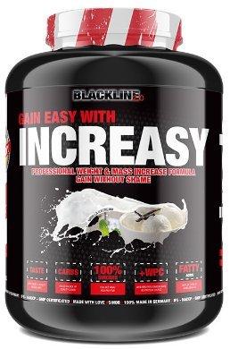 #sinob Increasy – High Quality Weight Gainer. Glutenfrei Mit Proteinen Und Kohlenhydraten. Optimal Für Hardgainer und Masseaufbau. 1 x 3500g (Vanille Eis)