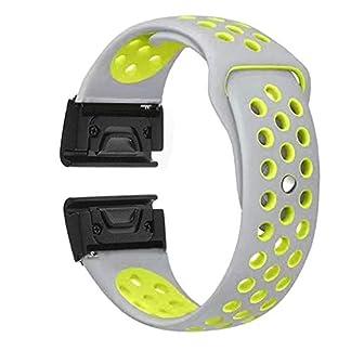 Siswong-Silikon-Uhrenarmband-WristStrap-fr-Garmin-Fenix-55-Plus-Forerunner-935-Instinct-Uhrenarmband-Silikonarmband-WristStrap-Stomatale