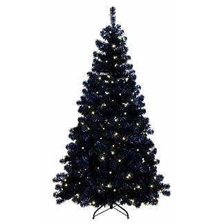 Best-Season-608-14-LED-Ottawa-Prelit-Tree-beleuchtet-schwarz
