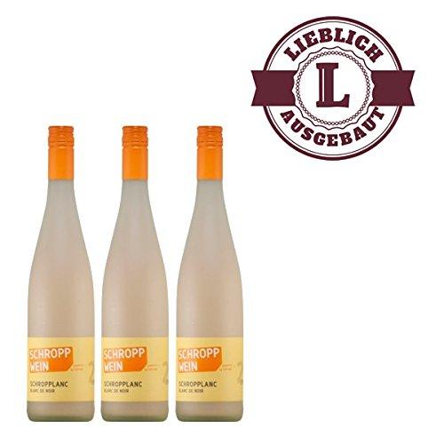 Weiwein-Schropplanc-Blanc-de-Noir-Trollinger-Qualittswein-2015-mild-3x075l