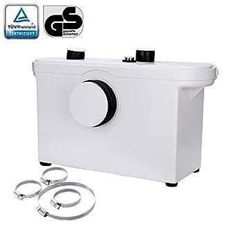 31-Hebeanlage-Fkalienpumpe-600W-Kompakte-Abwasserentsorgung-Hnge-WC-Dusche-Waschtisch-Haushaltspumpe
