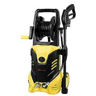 Powertech-PT2200-Hochdruckreiniger-AUTO-STOP-2200W-165-Bar-5-m-Schlauch-Trommel-Druckreiniger-Reiniger