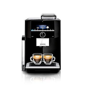 Siemens-TI923509DE-EQ9-s300-Kaffeevollautomat-1500-W-Keramikmahlwerk-1-Bohnenbehlter-kleines-TFT-Display-schwarz