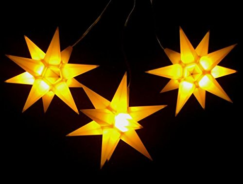 Leuchtsterne-StarLED-Lichterkette-3er-Set-gelb