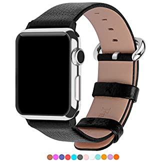 Apple-Watch-Armband-in-15-Farben-Fullmosa-Uhrenarmband-38mm42mm-Ersatz-Apple-Watch-Lederarmband-mit-Edelstahlschliee-fr-iwatch-Series-1-Series-2-Series-3
