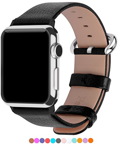Apple-Watch-Armband-in-15-Farben-Fullmosa-Uhrenarmband-38mm42mm-Ersatz-Apple-Watch-Lederarmband-mit-Edelstahlschliee-fr-iwatch-Series-1-Series-2-Series-3