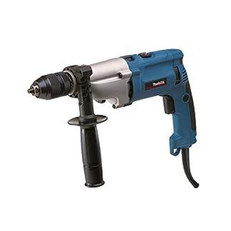 Makita-HP2071J-Schlagbohrmaschine-1010-W-Schwarz-Blau-Silber