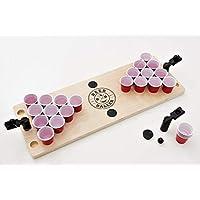 BeerBaller-Mini-Beer-Pong-Das-legendre-Bier-Pong-Spiel-als-Shot-Version-Inkl-GRATIS-ERSATZTEILE-Das-perfekte-Trinkspiel-fr-Deine-Party