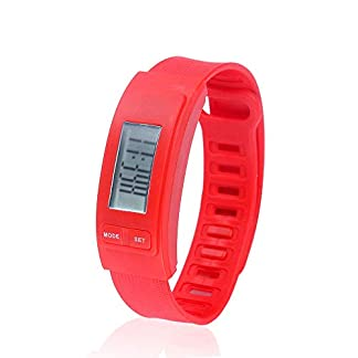 Godagoda-Unisex-Armbanduhr-Bunt-Outdoor-Sport-Smart-Wasserdicht-Schrittzhler-Uhr