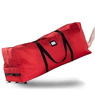 ZOBER-Aufbewahrungstasche-fr-Weihnachtsbaum-fr-bis-zu-27-m-Hoche-knstliche-zerlegte-Bume-robuste-Griffe-und-Rder-fr-einfaches-Tragen-und-Transportieren-reifeste-600D-Oxford-Duffle-Bag