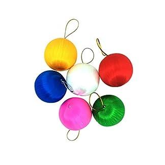FeiliandaJJ-Christbaumkugeln-6PCS-456CM-Weihnachtskugel-Einfarbig-Kugel-Weihnachten-Deko-Anhnger-Christbaumkugeln-fr-Weihnachtsbaum-Party-Home-Hochzeit