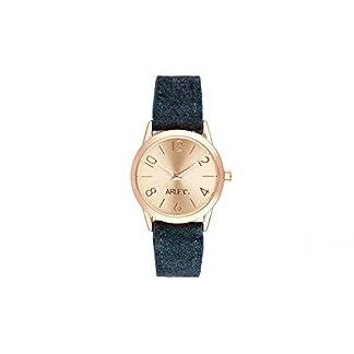 Arley-Unisex-Analog-Quarz-Uhr-mit-Stoff-Armband-ARL1105