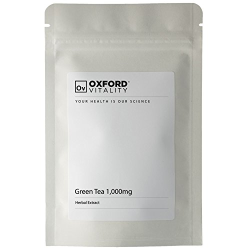 Oxford Vitality – Grüner Tee 1000mg Tabletten