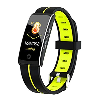 A-Artist-Fitness-TrackerWasserdicht-Fitness-Armband-mit-Pulsmesser-096-Zoll-Farbbildschirm-Smartwatch-Aktivittstracker-Pulsuhren-Schrittzaehler-Uhr-Smart-Watch-Fitness-Uhr-fr-Damen-Herren