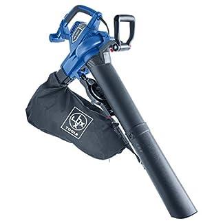 LUX-TOOLS-E-LS-300045-Elektro-Laubsauger-mit-Blas-Hckselfunktion-inkl-45-l-Fangsack-Tragegurt-Kabelgebundener-3in1-Laubblser-und-sauger-mit-3000-W-Elektro-Motor-Zusatz-Handgriff