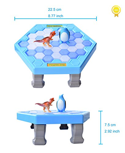 Pinguin-Trap-HOWADE-Tischspiele-Balance-Eiswrfel-Eisbrechende-Spiel-Speichern-Sie-das-interaktive-Familien-Spiel-Pinguin