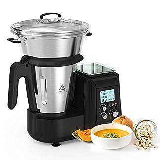 MLITER-Kchenroboter-multifunktion-Kchenmaschine-Standmixer-Hochleistungsmixer-Suppe-Maker-Standmixer-Edelstahl-Dampfgarer-digitale-Kchenwaage-800W-schwarz