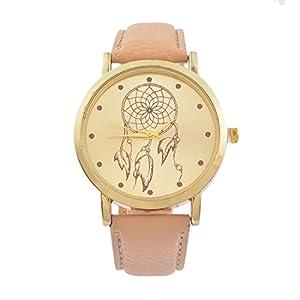 Souarts-Damen-Armbanduhr-Traumfnger-Muster-Deko-Quarz-Uhr-mit-Batterie-Charm-Geschenk