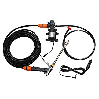 Luminiu-Hochdruckreiniger-Autoreifenreiniger-Drahtlose-Handwaschpistolen-Reinigungswerkzeuge-Wasserdruck-Wasserdurchfluss-Selbstansaugender-Wasserhahn