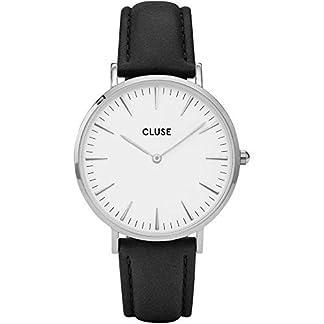 Cluse-Damen-Armbanduhr-Analog-Quarz-Leder-CL18208