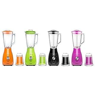 2in1-800-Watt-Standmixer-mit-Mix-Behlter-aus-Glas-15-Liter-inklusive-Kaffeemhle-BPA-Free-Smoothie-Maker-Ice-Crusher