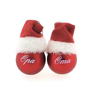 MC-Trend-Weihnachtskugeln-mit-Mama-Papa-Oma-Opa-Rote-Kugeln-mit-weiem-Druck-und-Mtze-Geschenk-Anhnger-Weihnachtsbaum