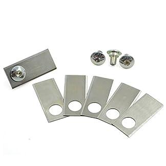 ive-9-Stk-Ersatzmesser-mit-9-Stk-Schrauben-fr-Honda-Miimo-Messer-fr-Honda-Miimo-NEU-und-die-Richtigen
