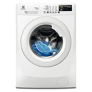 Electrolux-RWF-1495-BW-autonome-Belastung-Bevor-9-kg-1400trmin-A-20-wei-Waschmaschine–Waschmaschinen-autonome-bevor-Belastung-wei-links-LCD-Edelstahl