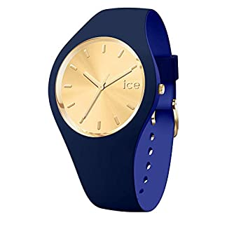 Ice-Watch-ICE-duo-chic-Navy-Blaue-Damenuhr-mit-Silikonarmband-016986-Medium