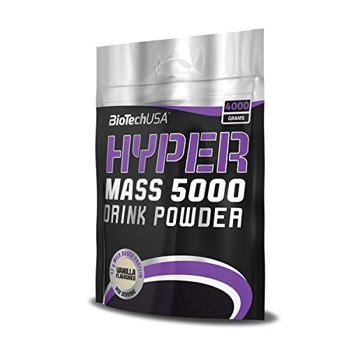 Hyper Mass 5000 Karamell-Cappuccino 4000 g Dose – Gainer für Massezuwachs – BiotechUSA