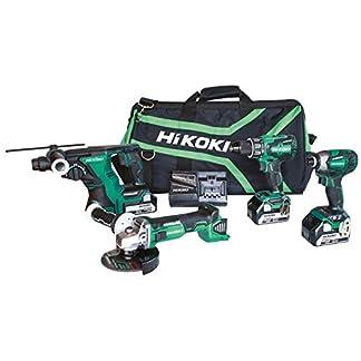 HiKOKI-KC18DG4LWC-Kit-DV18DBSL-WH18DBDL2-DH18DBL-G18DBL-3-Akkus-18V-5-Ah-UC18YFSL-Borsone-18-V