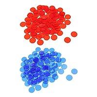 Baoblaze-1000-Stck-Transparent-Bingo-Chips-Zhler-aus-Kunstoff