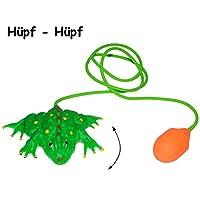 Unbekannt-Spring-Frosch-Hpffrosch-lustiger-Frosch-Tiere-mit-Handpumpe-Springfrosch-zum-Spielen-und-Erschrecken-Pumpe-Insekt-bewegt-Sich-Halloween-Deko