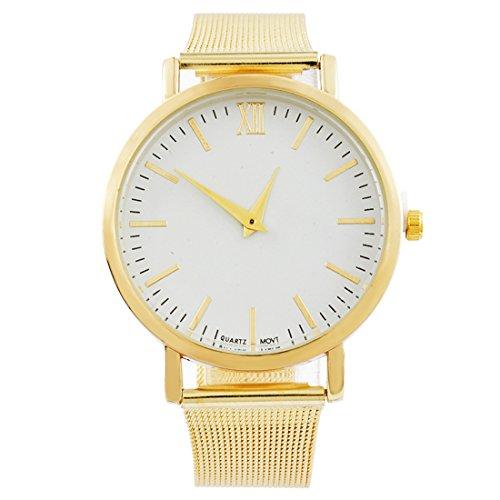 Souarts-Damen-Armbanduhr-Einfacher-Stil-Quraz-Deko-Uhr-mit-Batterie-Charm-Geschenk