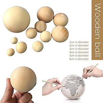 Hlzerne-runde-Kugel-natrliche-runde-Hartholzkugeln-glatte-Birken-Kugeln-fr-Handwerk-und-DIY-Projekt-Zusatz-hlzerne-bunte-groe-gemalte-Kugel-Dekoration