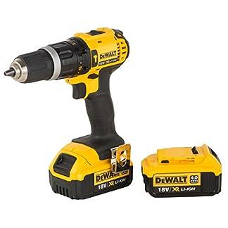 DeWalt-DCD785M2-QW-DCD785M2-Schlagbohrschrauber-18-V-Schwarz-Gelb