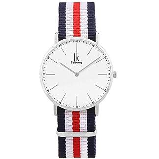 Alienwork-IK-Uhr-fr-Herren-Damen-Armbanduhr-mit-Nylon-NATO-Armband-Quarz